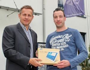 Christian Meinecke hat den Hauptpreis der Cityguide Osteraktion gewonnen.