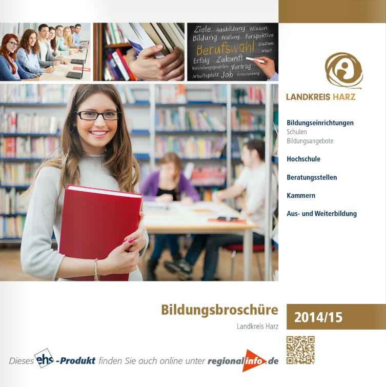Bildungsbroschuere Harz 2014 2015