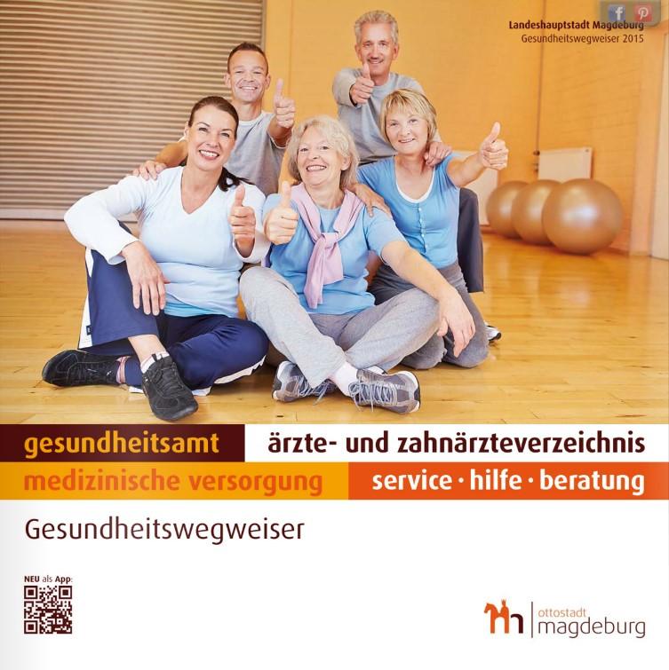 Gesundheitswegweiser Magdeburg 2015