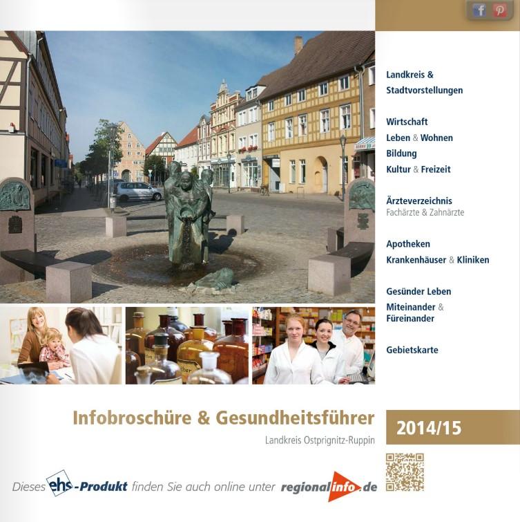 Gesundheitswegweiser Ostprignitz 2015